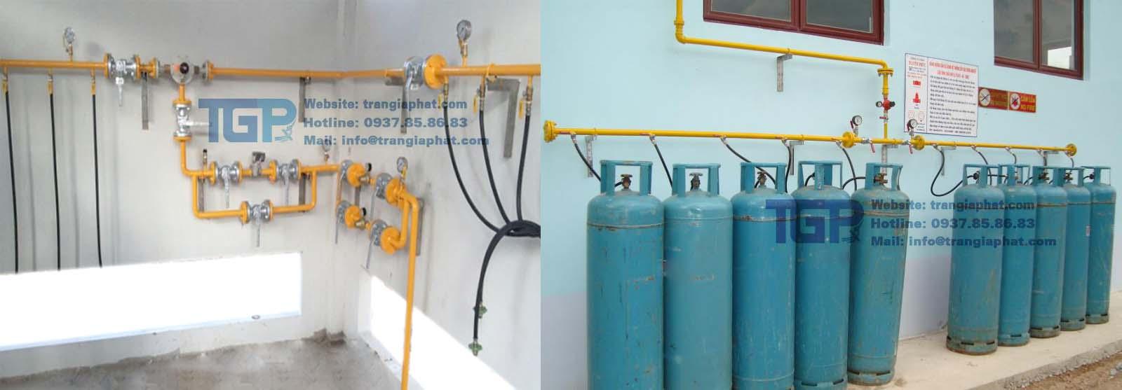 Hệ thống gas công nghiệp cho nhà hàng khách sạn