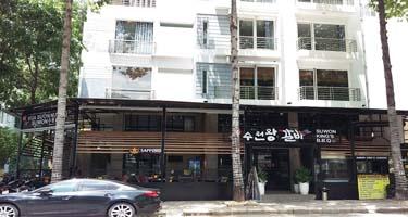 Bếp công nghiệp và hệ thống hút khói tại bàn - Nhà hàng Suwon ...