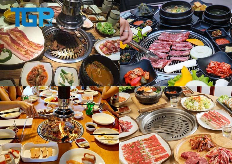 Bếp nướng tại bàn được lắp đặt tại các nhà hàng nướng, lẫu
