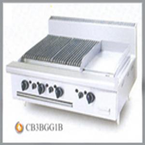 CHIÊN BỀ MẶT NƯỚNG GAS CB 3B GG1B