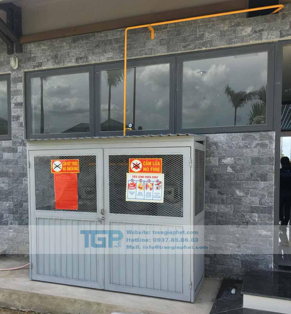 Hệ thống gas công nghiệp tại Trần Gia Phát