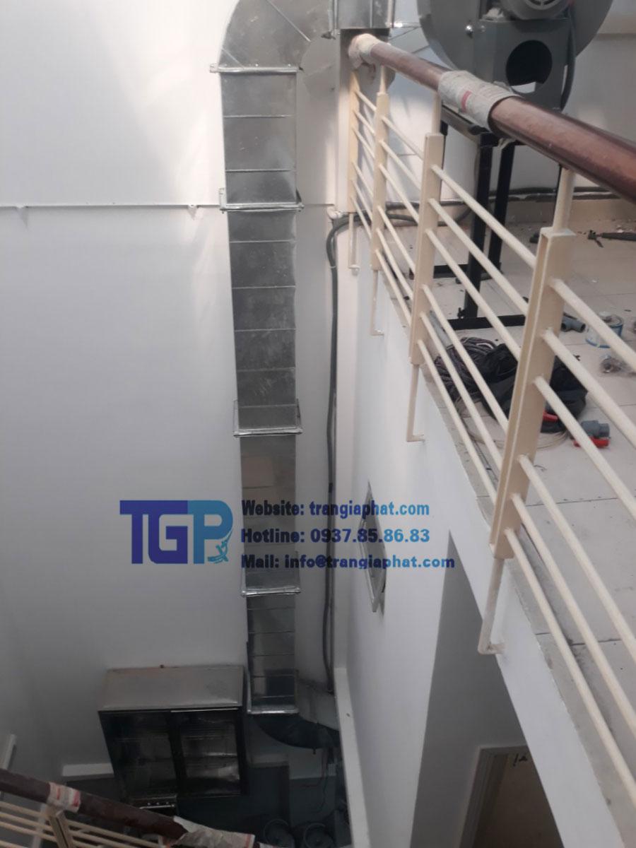 Hệ thống hút khói công nghiệp chất lượng