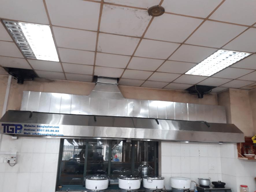 Hệ thống hút khói công nghiệp Daphaco