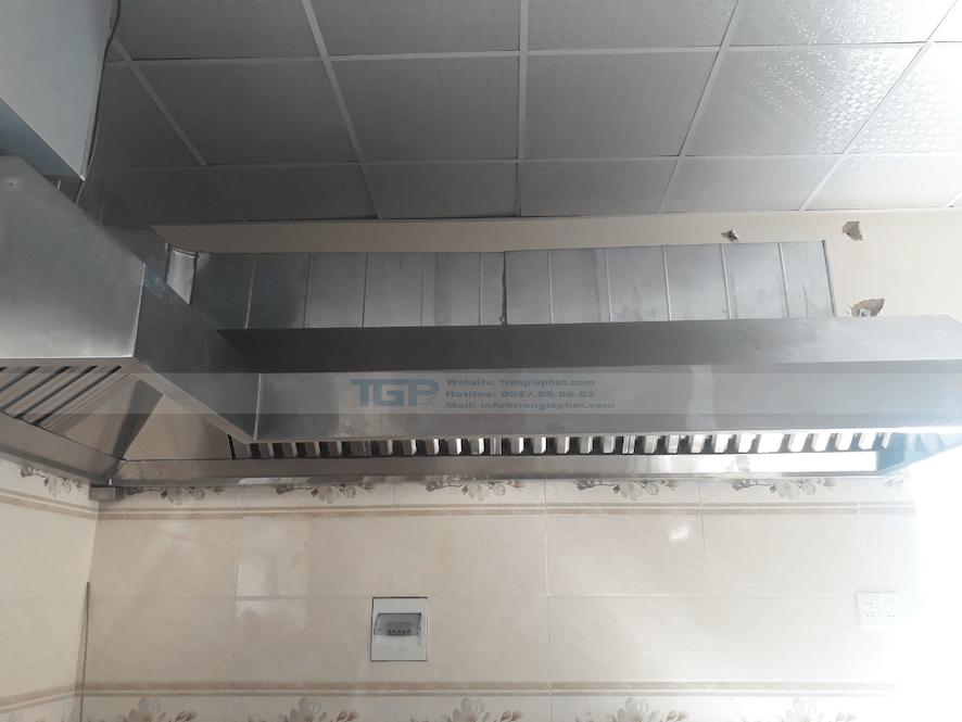 Hệ thống hút khói khu công nghiệp Mỹ Phước 3 giá rẻ