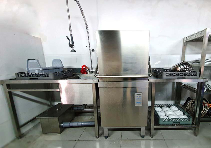 Máy rửa chén công nghiệp PT500 uy tín