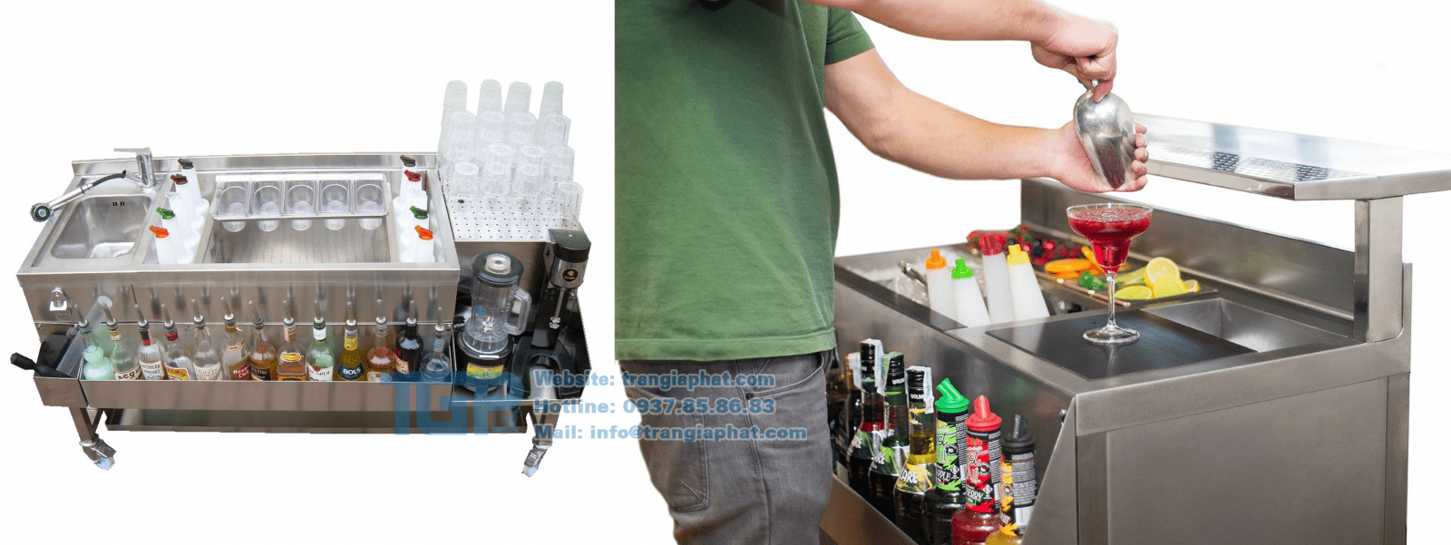 Module pha chế lưu động chất lượng