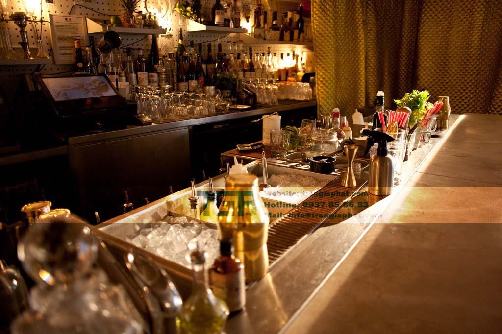 quay bar inox module pha che thiet bi bar cafe209