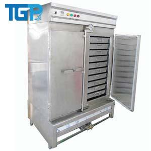 Tủ hấp cơm 100kg điện và gas