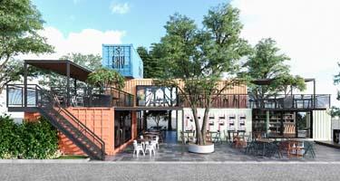 Hệ thống bếp công nghiệp và quầy bar inox - Sky cofee Châu Đốc - An ...