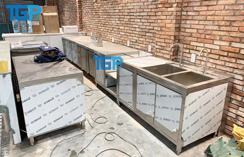 Tủ inox được làm bằng SUS 304 cao cấp