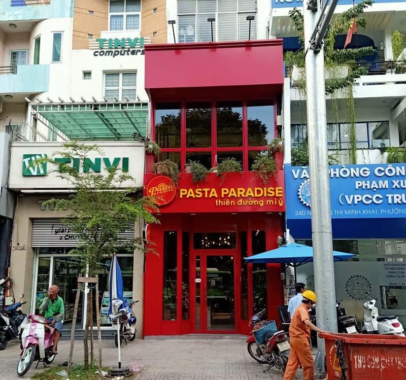 Trần Gia Phát thi công hệ thống bếp công nghiệp Nhà hàng Pasta Paradise