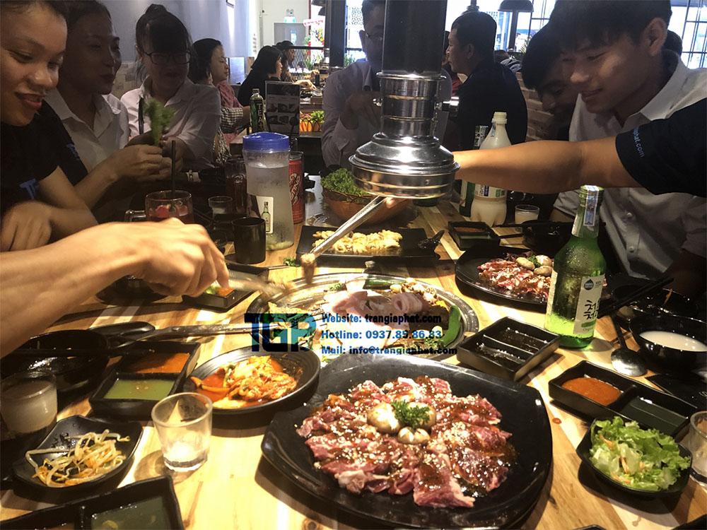 Bep nuong buffet