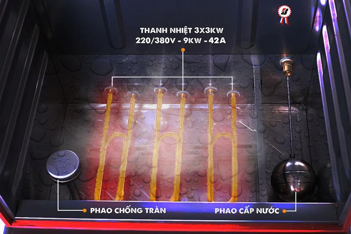 Phương thức vận hành tủ cơm