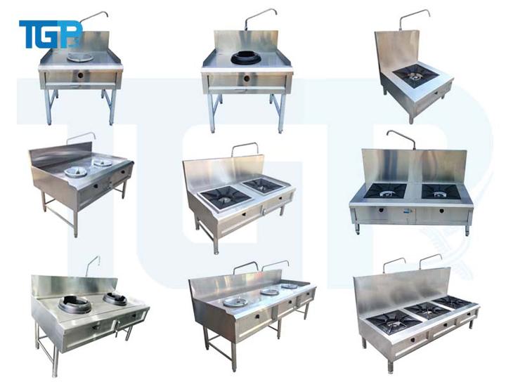 Phân loại bếp Á công nghiệp