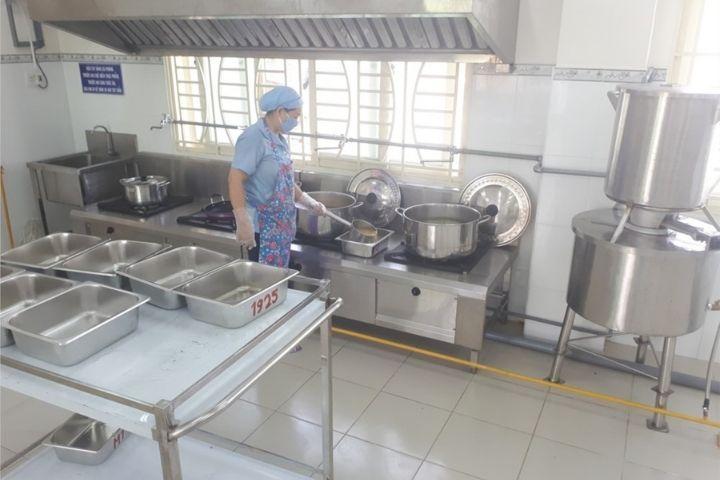 Bếp trường mầm non