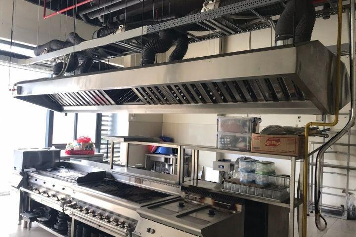Lưu ý của hệ thống hút mùi bếp công nghiệp