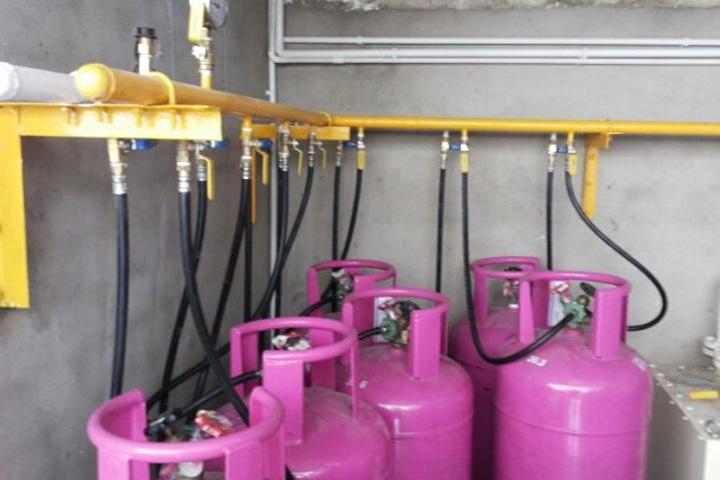 Hệ thống gas trung tâm cho chung cư