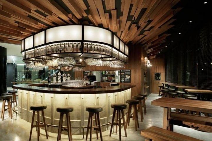 Thiết kế quầy bar quán cà phê