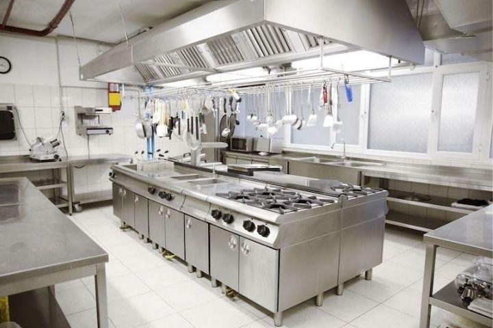 Thiết kế bếp quán phở đẹp hợp lý