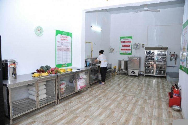 Tiêu chuẩn nhà bếp trường mầm non