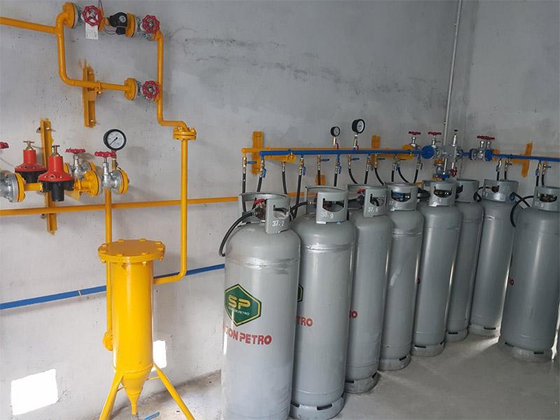 Hệ thống dẫn gas đạt tiêu chuẩn