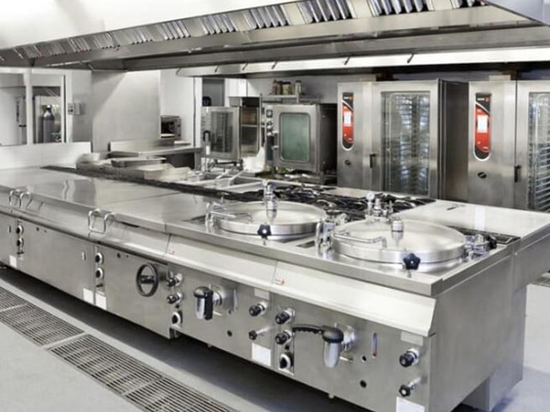 Thiết kế khu bếp nấu cho bếp nhà hàng