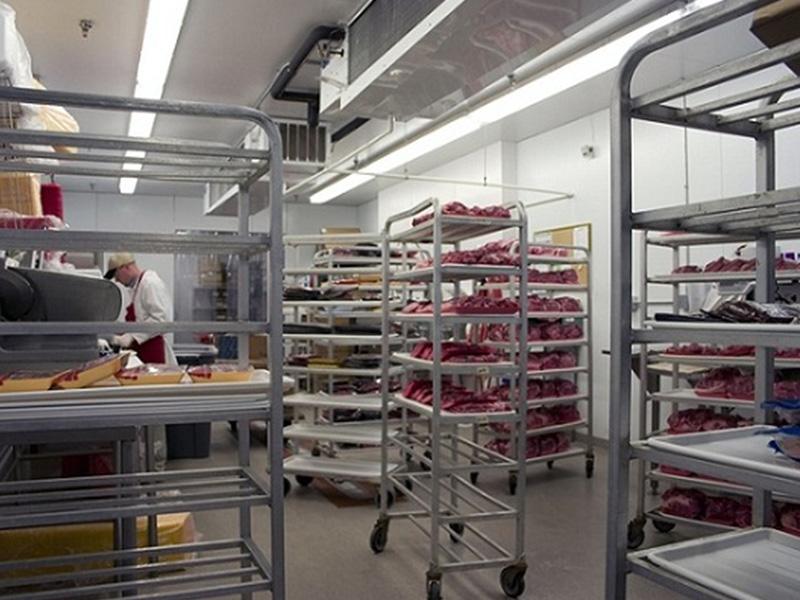 Thiết kế khu lưu trữ bếp nhà hàng