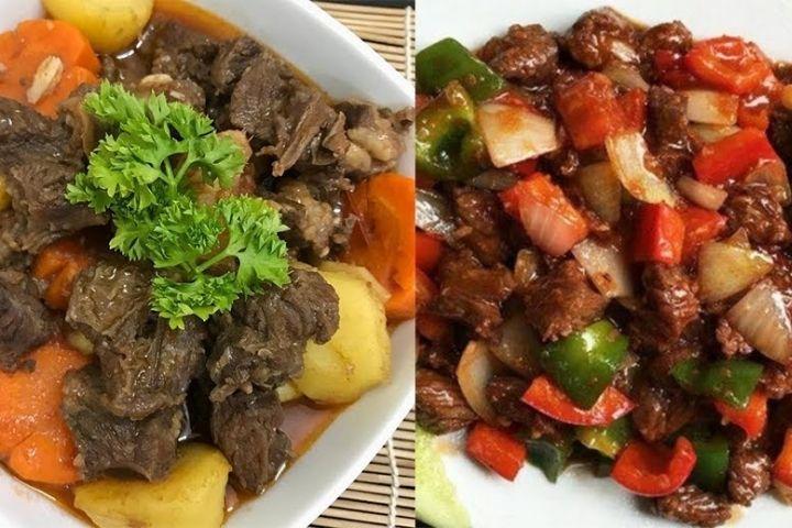 Thực đơn cơm bình dân ngon với thịt bò