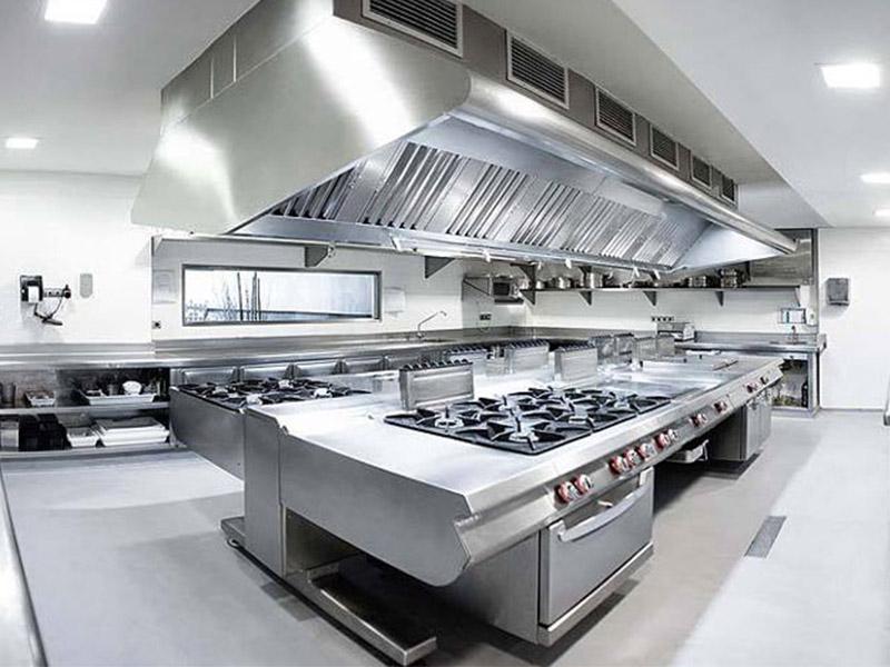 Tiêu chuẩn ánh sáng của thiết kế bếp nhà hàng