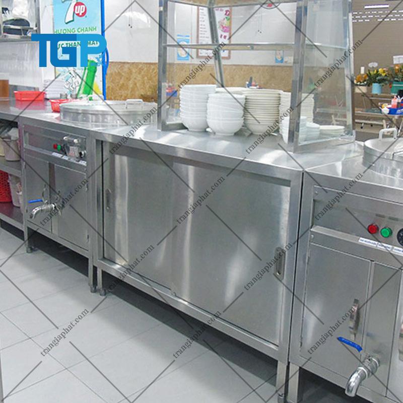 Đặc điểm của tủ bếp inox công nghiệp
