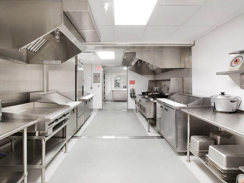 Những tiêu chuẩn thiết kế bếp ăn công nghiệp hoàn chỉnh