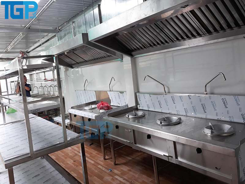 Bếp Á công nghiệp là gì