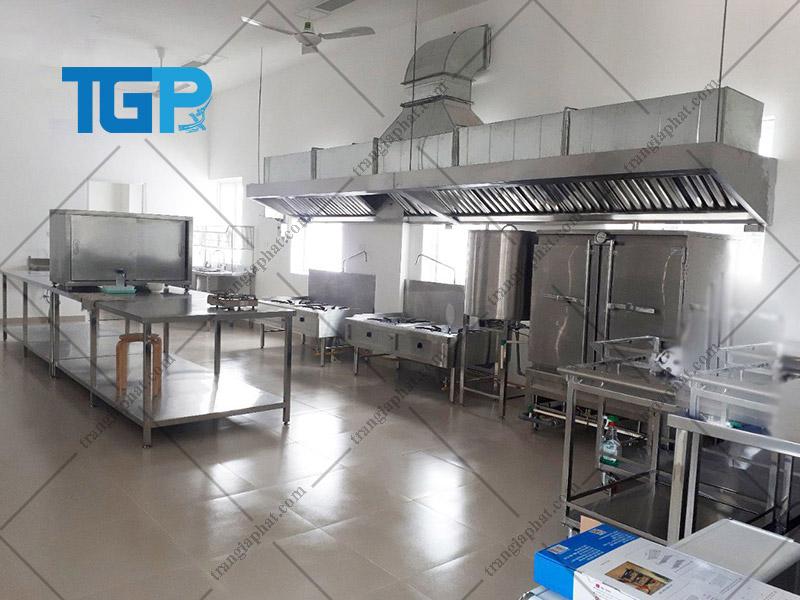 Bếp ăn công nghiệp phù hợp với nhu cầu sử dụng