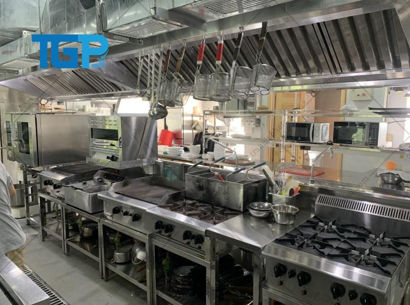 Ưu điểm của bếp ga công nghiệp bằng inox