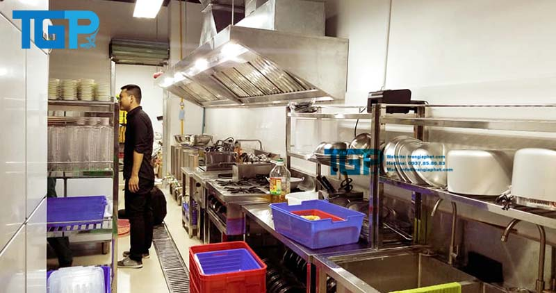 Đặt ra những yêu cầu khi thi công bếp Á Âu công nghiệp
