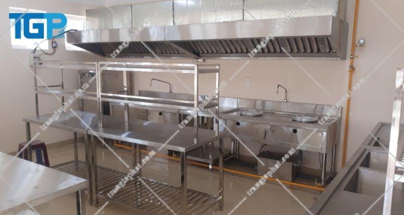 Giá bếp Á công nghiệp 3 họng lớn