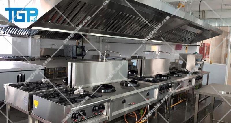 Giá bếp Âu công nghiệp