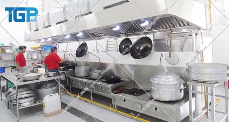 Giá bếp hầm công nghiệp