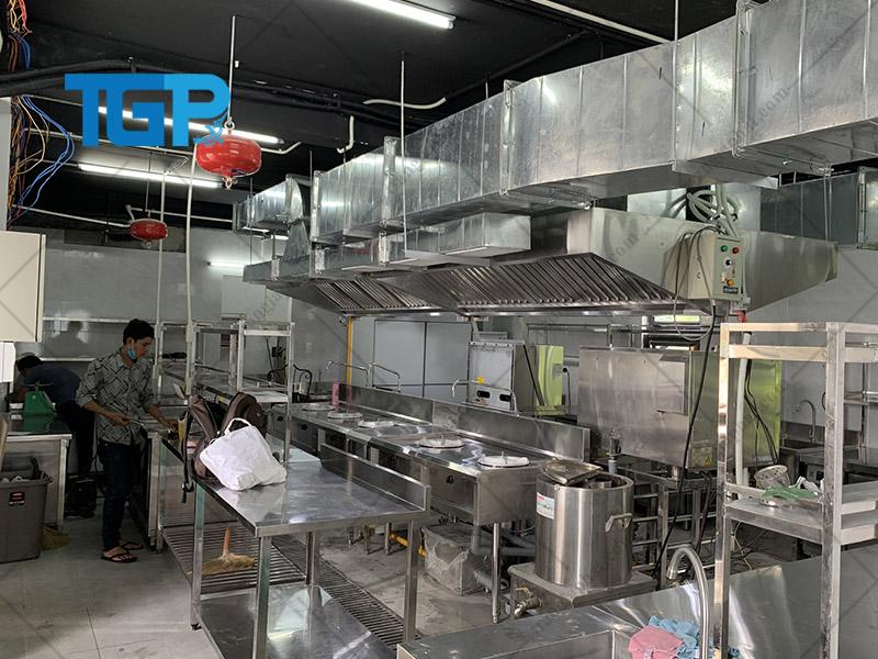 Giải pháp bếp công nghiệp cho cơ sở kinh doanh ăn uống