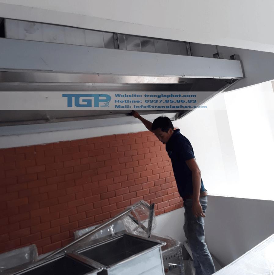 Hệ thống hút khói bếp công nghiệp nhà hàng HONG KONG