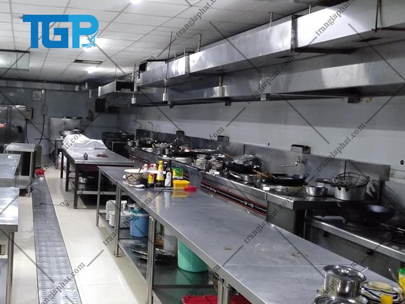 Hút khói bếp công nghiệp cho khu công nghiệp, chế xuất