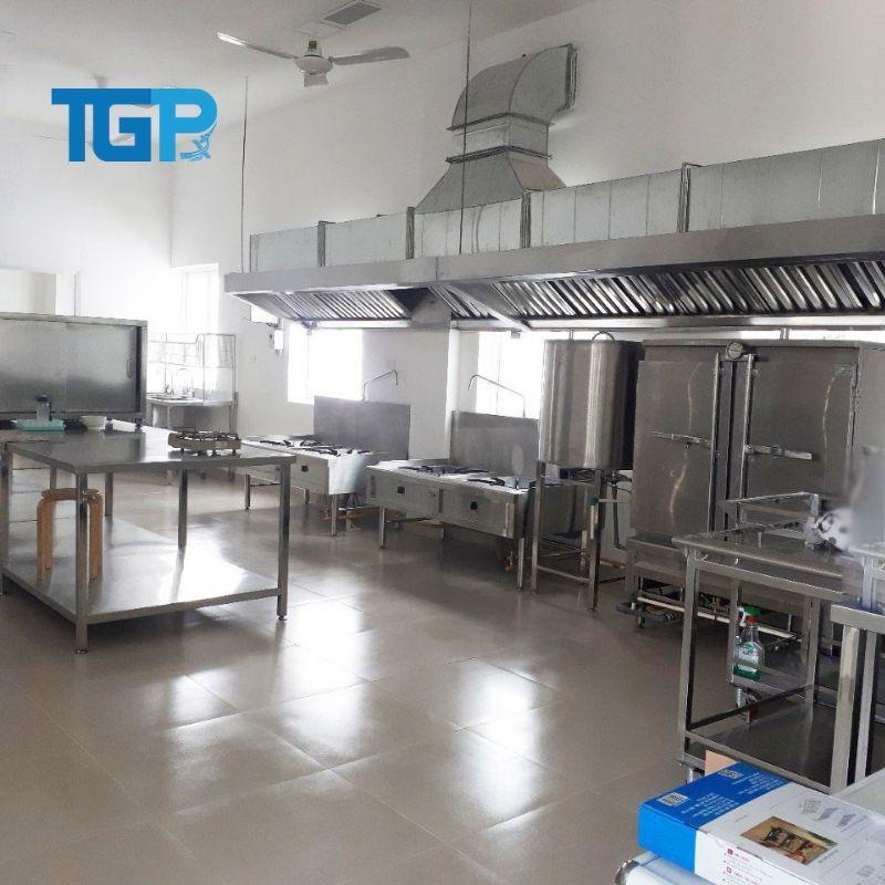 Mô hình bếp công nghiệp thẩm mỹ - khoa học
