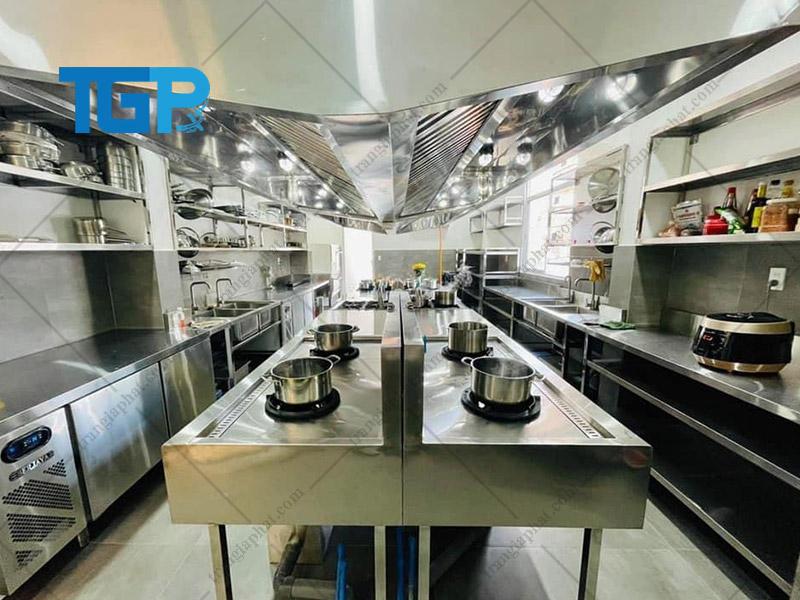 Những lưu ý cần quan tâm trước khi thi công bếp công nghiệp