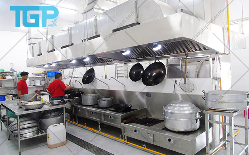 Quản lý bếp ăn công nghiệp theo sơ đồ Hệ thống tổ chức chế biến một chiều