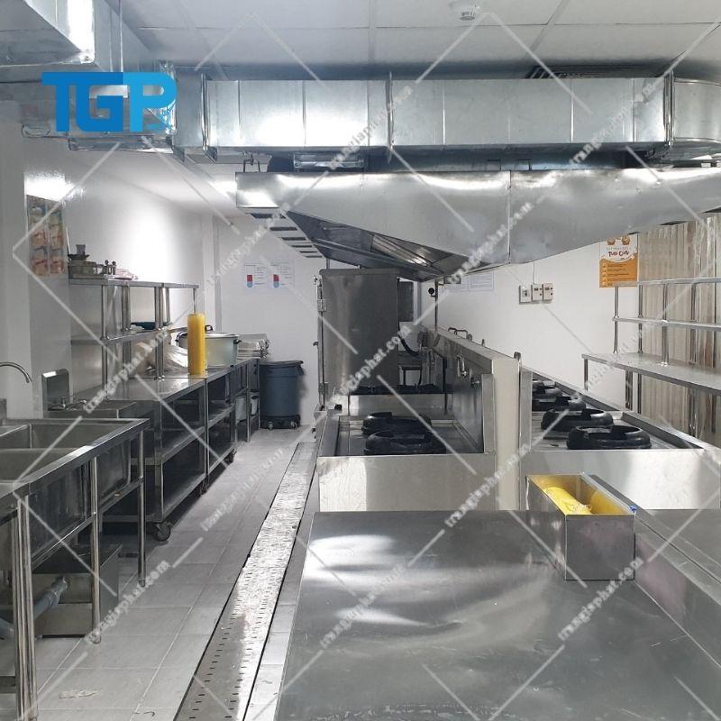 Thiết bị bếp công nghiệp chất liệu nào tốt