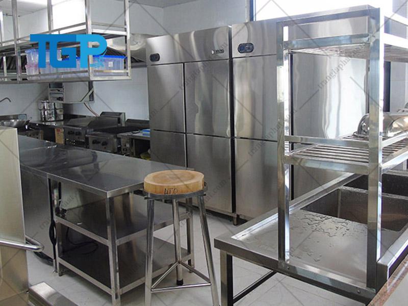 Yêu cầu trước khi thi công bếp công nghiệp