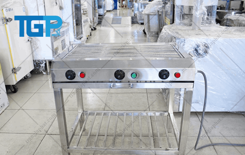 Lò nướng thịt công nghiệp bằng điện