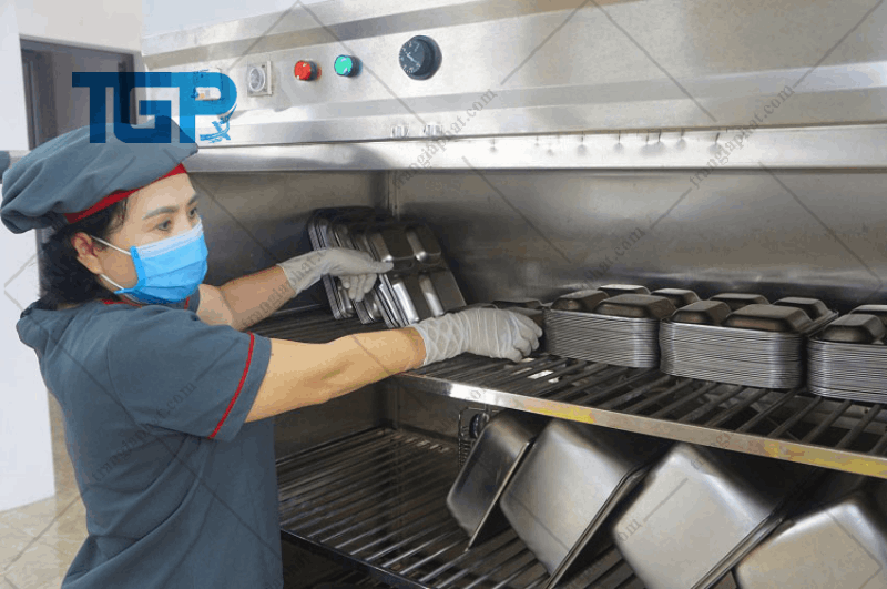 Mẫu bếp công nghiệp khoa học