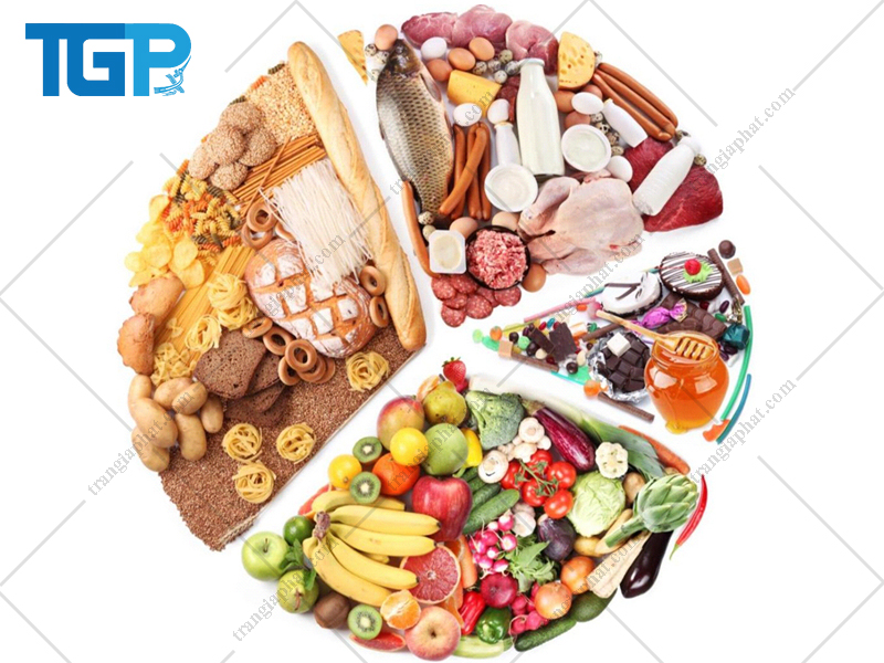 4 nhóm thực phẩm dinh dưỡng cho gia đình
